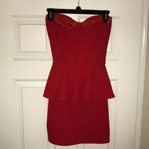 Love Culture Dresses - Strapless Night Out Dress
